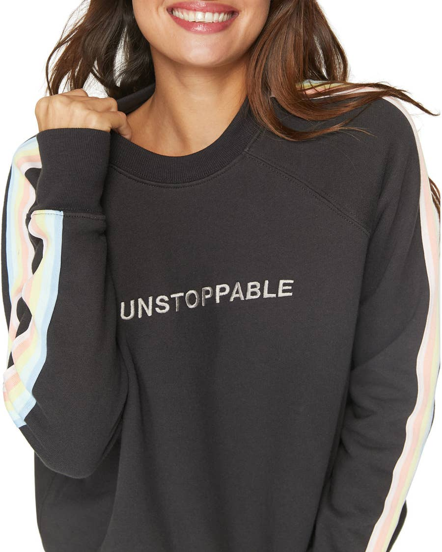 you/'re going to be amazing sweatshirt  ladies/' cosy sparkly amazing sweatshirt