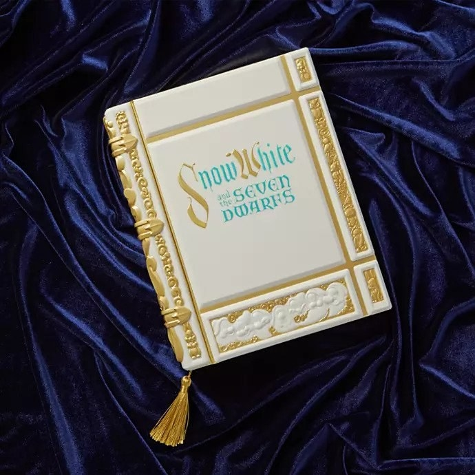 notebook with gold embellished cover