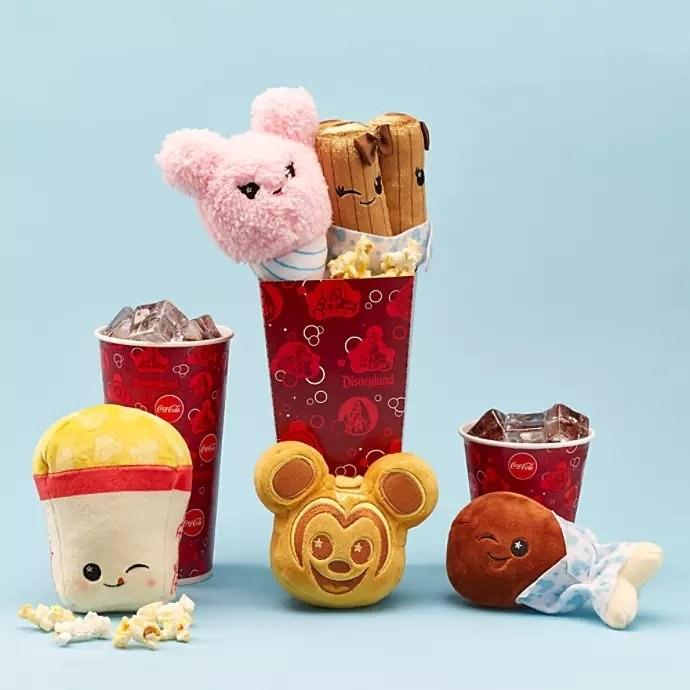 plush toys shaped like snacks
