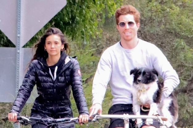 In Celebrity Relationship News, Nina Dobrev And Shaun White Are Dating