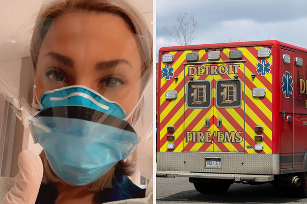 A Detroit Nurse Was Fired After Speaking Out About Her Hospital's Handling Of The Coronavirus Outbreak. Now She's Fighting Back.