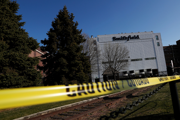 """Smithfield Foods Is Blaming """"Living Circumstances In Certain Cultures"""" For One Of America's Largest COVID-19 Clusters"""