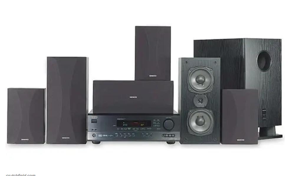 A 5-speaker surround sound system
