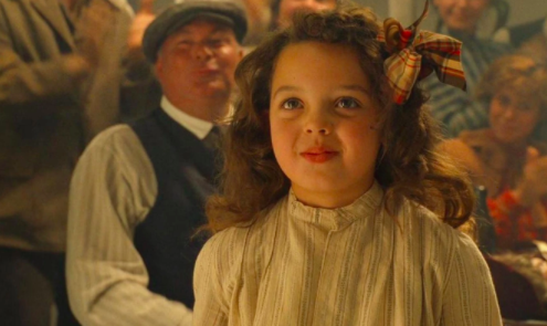 The little girl in Titanic