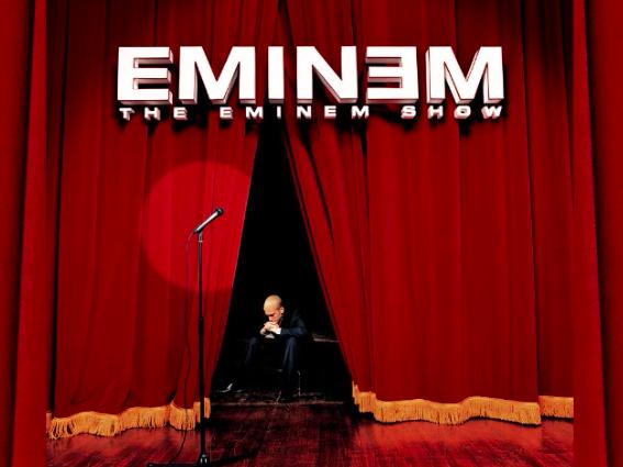 The eminem show album cover
