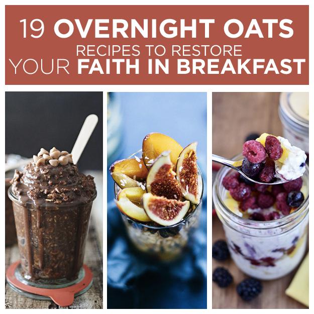 chocolate overnight oats and fruit overnight oats in glass mason jars