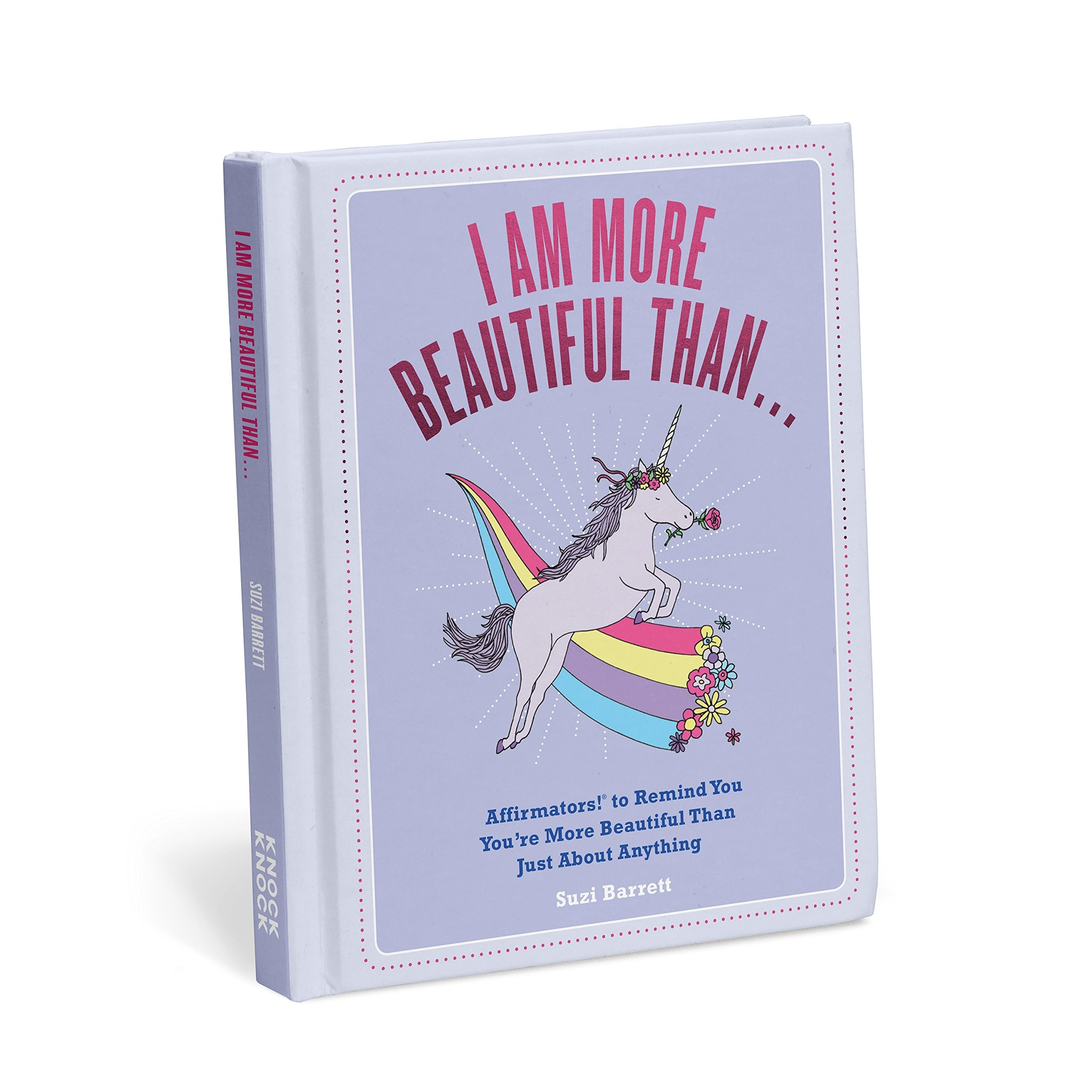 the book with a unicorn on the cover