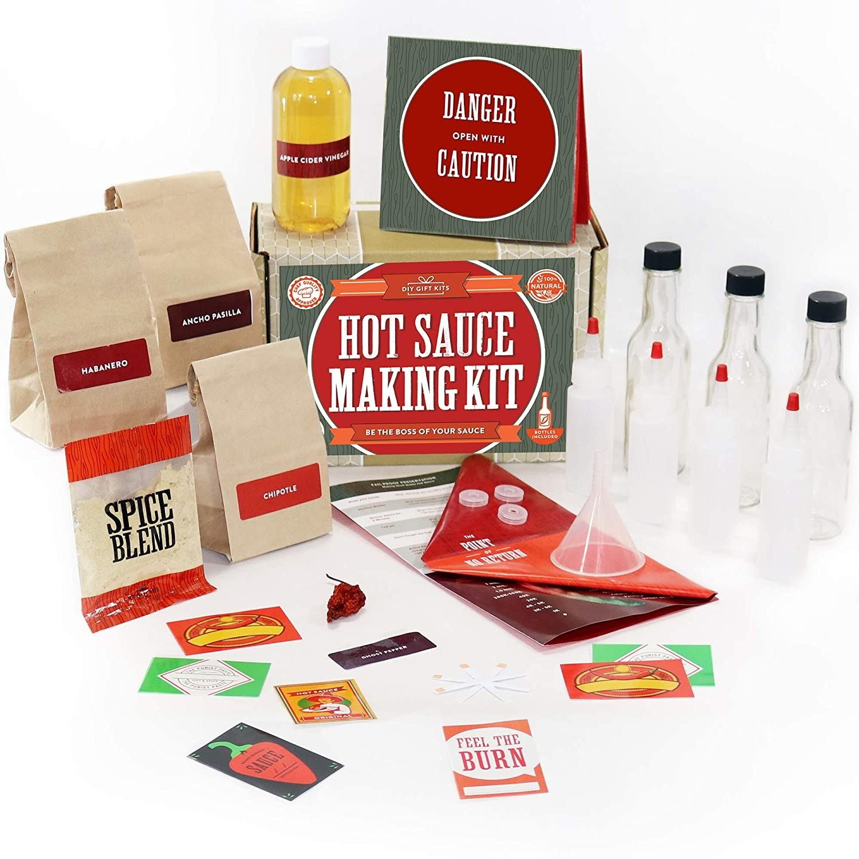 the hot sauce making kit
