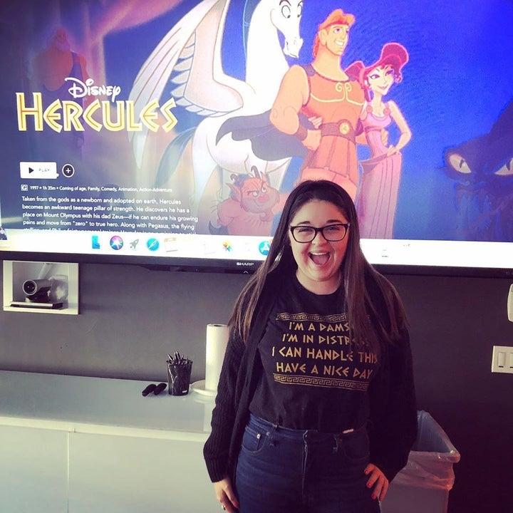 buzzfeed editor wearing the shirt