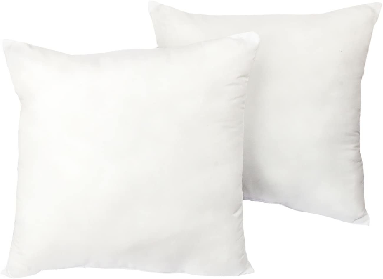 two square pillows