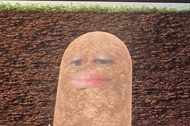 This Woman Accidentally Turned Herself Into A Potato For A Video ...