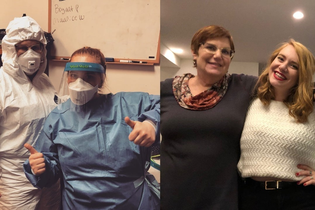 She Is A Retired Doctor. Her Daughter Was An EMT. Now They're Both Volunteering In The Coronavirus Pandemic.