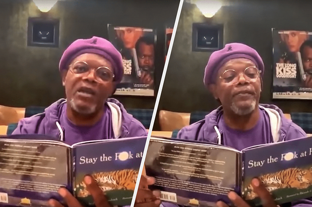 This Video Of Samuel L. Jackson Telling Everyone To