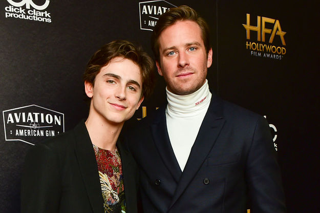 Timothée Chalamet And Armie Hammer Have Reportedly Signed On For The