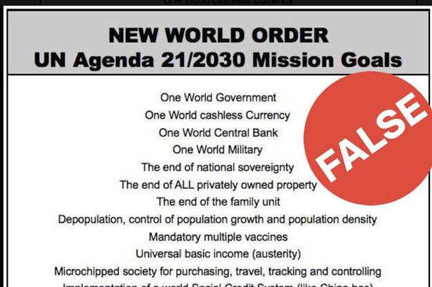 "An Old Conspiracy Theory Known As ""Agenda 21"" Has Been Given Fresh Life By The Coronavirus Pandemic"