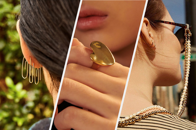 22 Really Pretty Pieces Of Jewelry That You Won't Believe Are Under $100