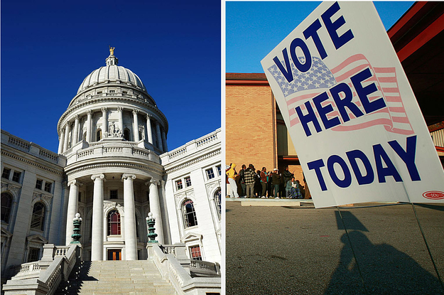 The Wisconsin Supreme Court Ruled In-Person Voting Must Proceed Tuesday Despite The Coronavirus Pandemic