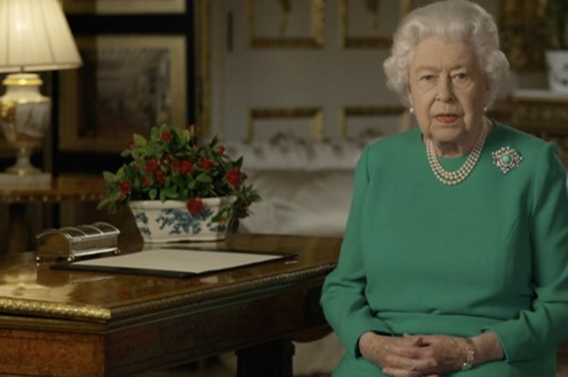"Queen Elizabeth Has Called For ""Self-Discipline And Resolve"" To Defeat The Coronavirus"