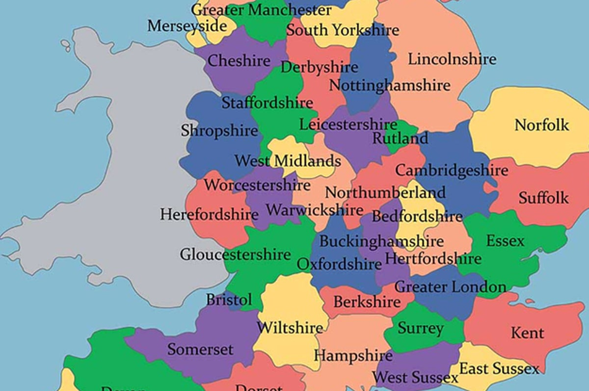 Only A Geography Whizz Will Be Able To Get Over 83 On This English Counties Quiz
