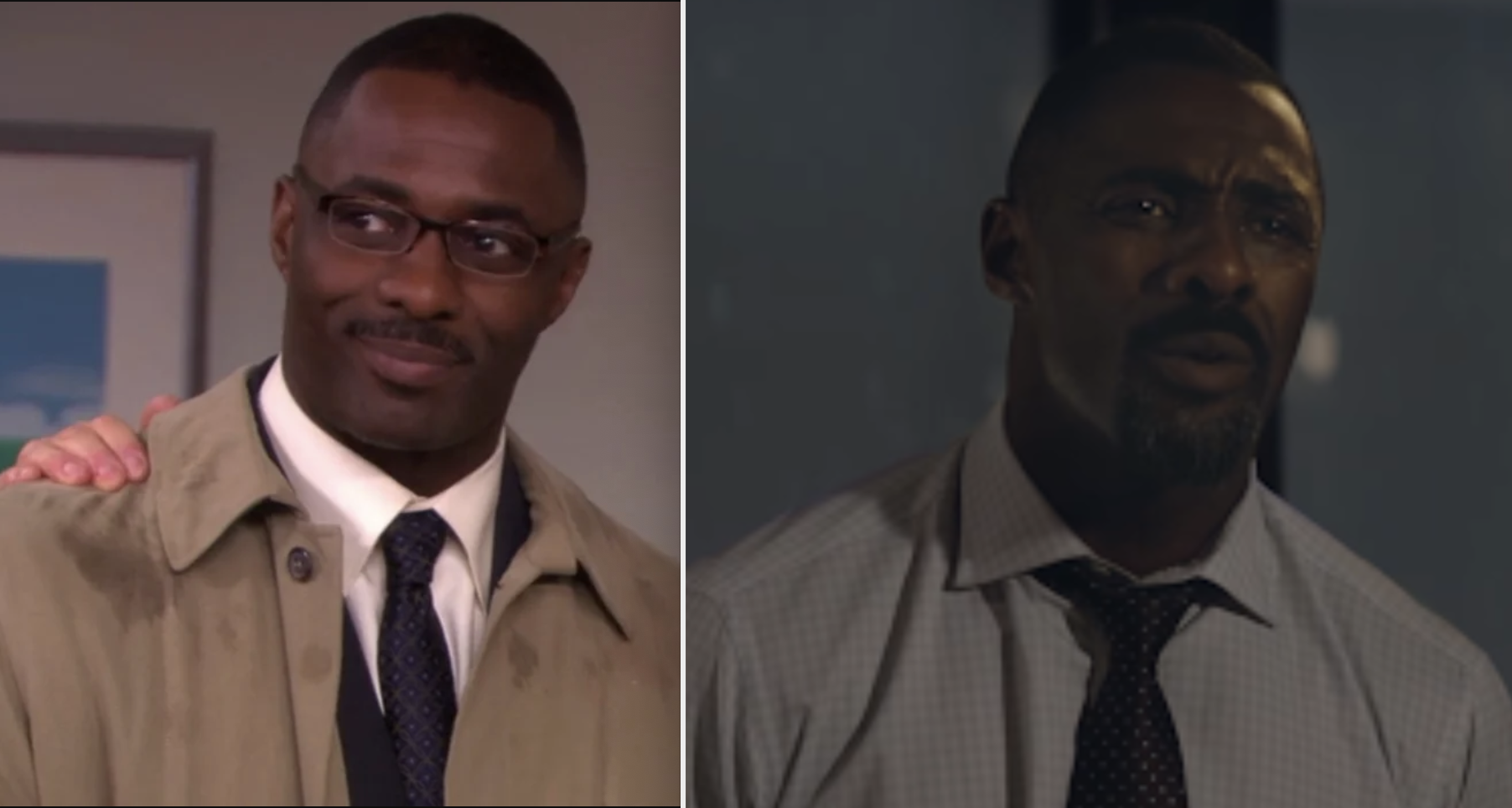 """Idris in """"The Office"""" and """"Molly's Game"""""""