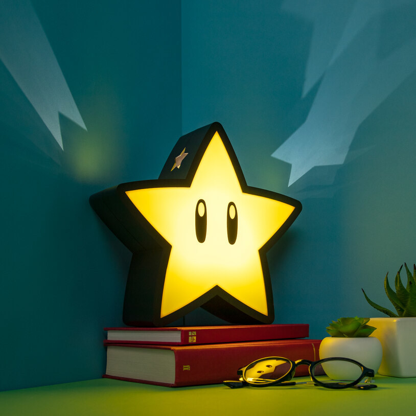 the star-shaped lamp