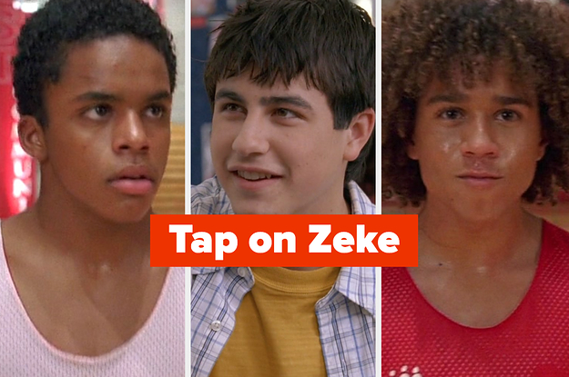 "How Many Of These 20 ""High School Musical"" Characters Can You Identify?"