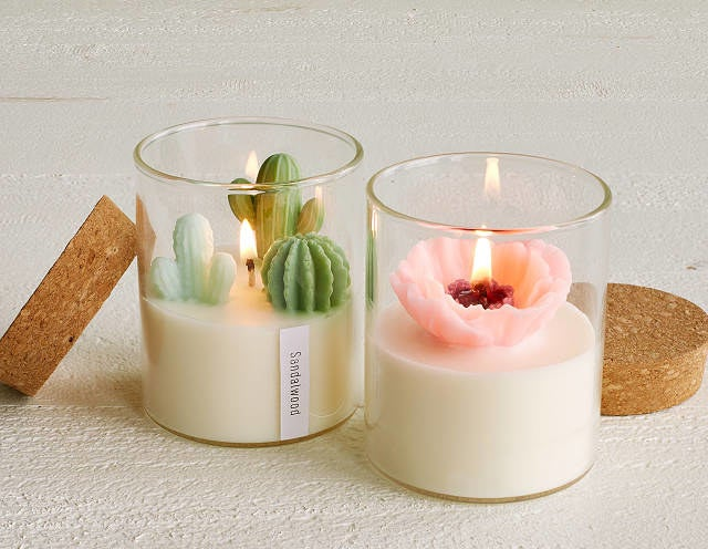 the two styles of the candle