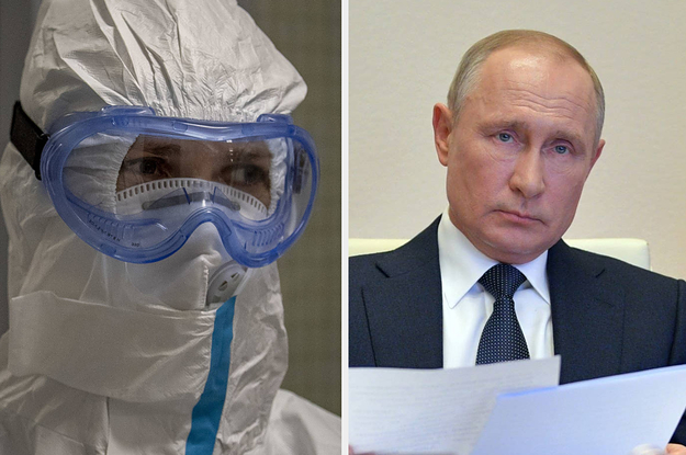 The Coronavirus Death Toll In Russia Keeps On Climbing, But Putin's Had Enough Of It