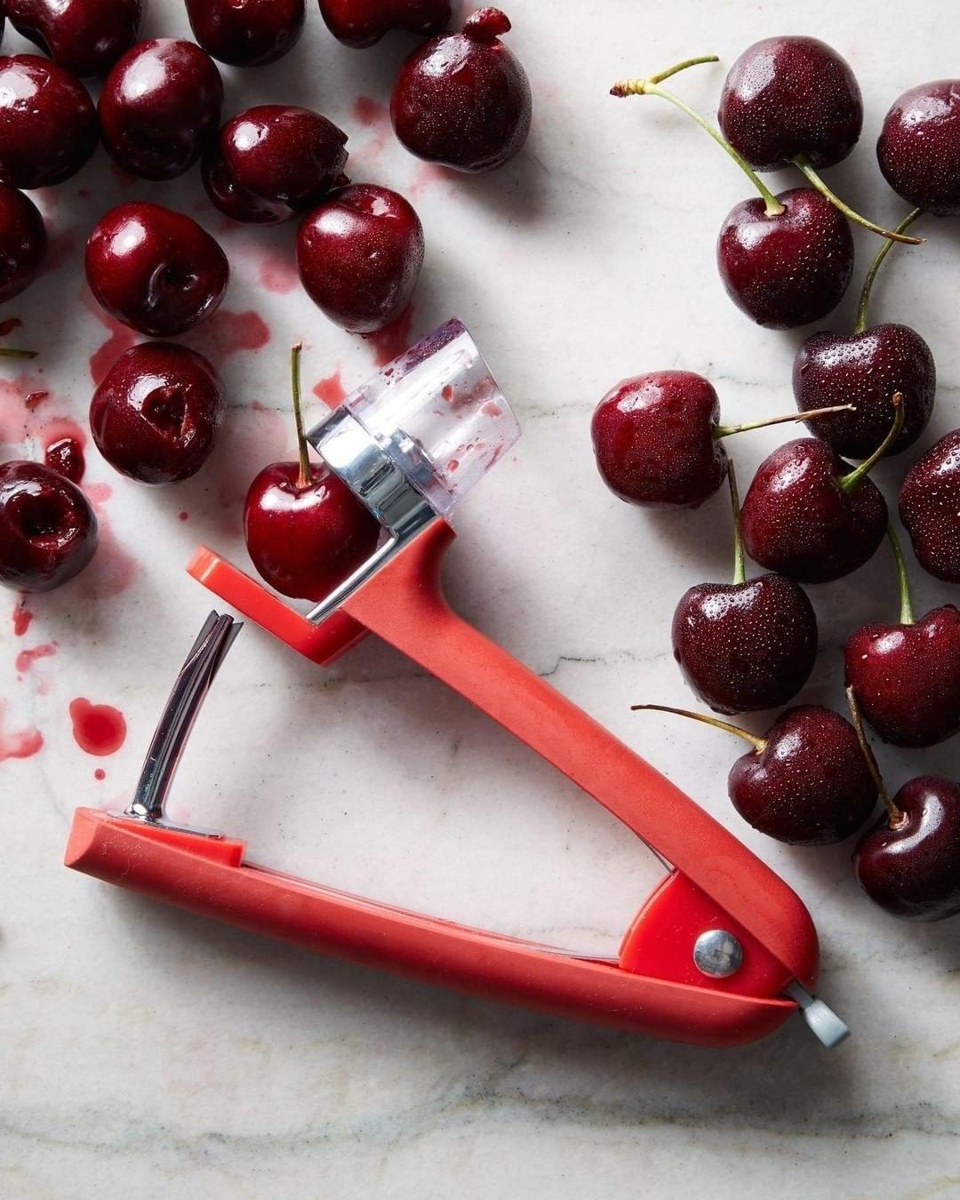 The cherry pitter