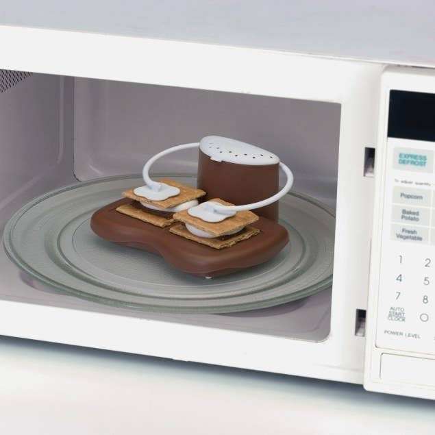 The tool in a microwave