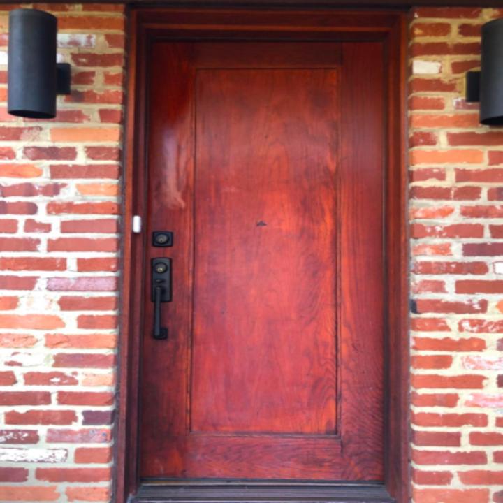 reviewer's front door