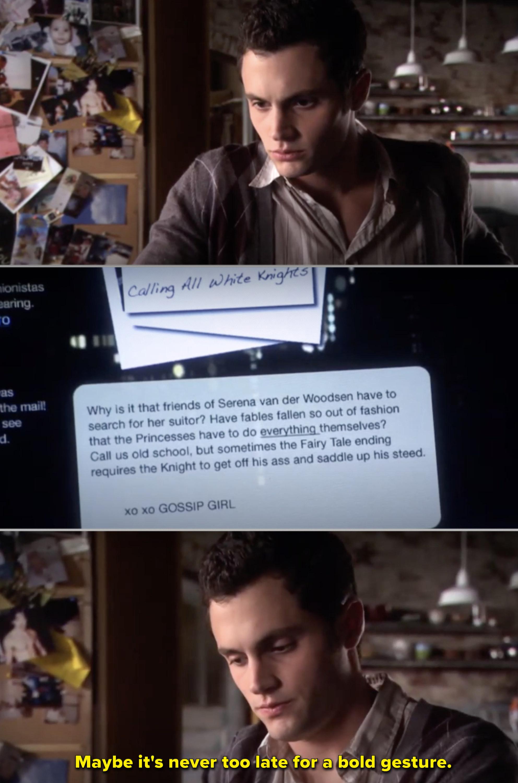 Dan sitting at his laptop