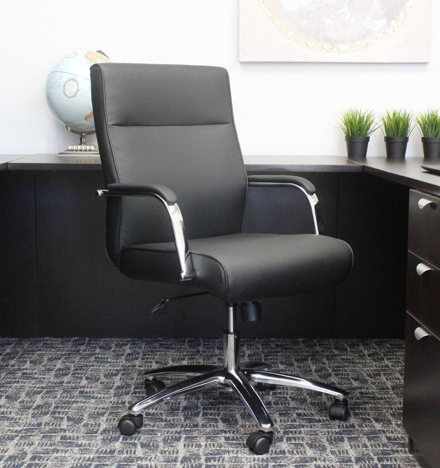 The chair in an office