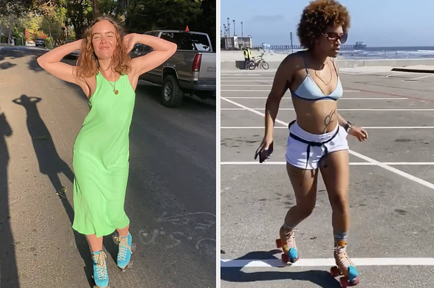 These Very Cool Women On TikTok Are Causing Roller Skates To Sell Out Online