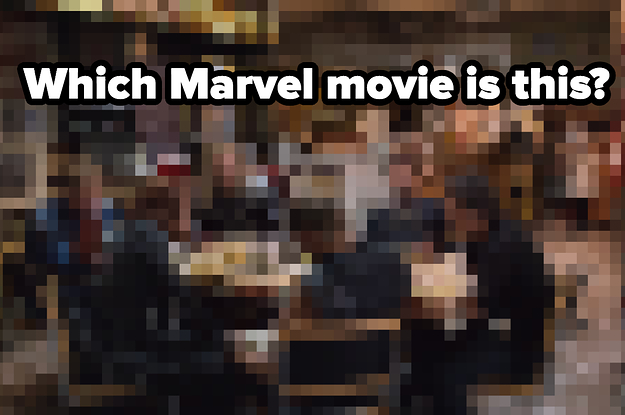 Sorry, Only Someone Who's Seen Every Marvel Movie Can Pass This Pixelated Image Quiz