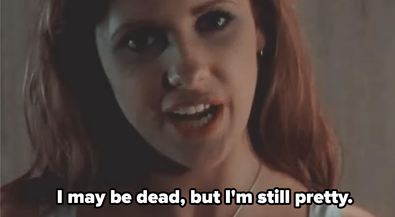 """巴菲:""""我是说;我可能已经死了,但我';""""我还是很漂亮"""";"""