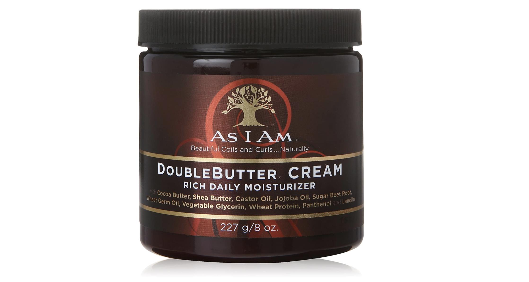 Tub of hair cream