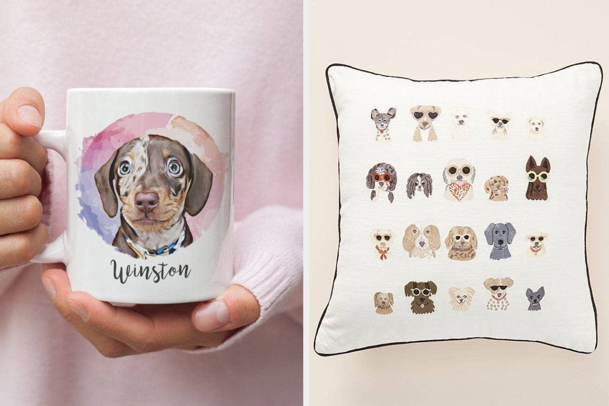 """36 Cute Products With Dogs On Them You'd Probably Describe As """"Pawfect"""""""