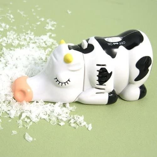 Miniaspiradora en forma de vaca