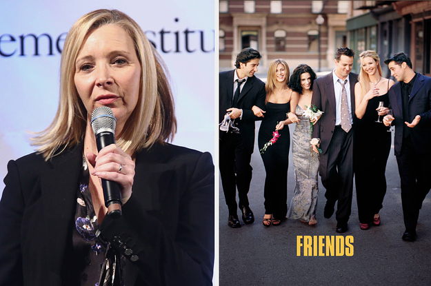 """Lisa Kudrow Just Addressed The Criticisms About """"Friends"""" Having ..."""