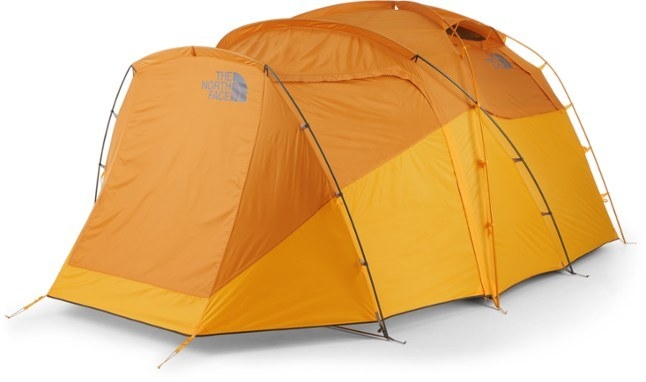 A product shot of the tent in yellow