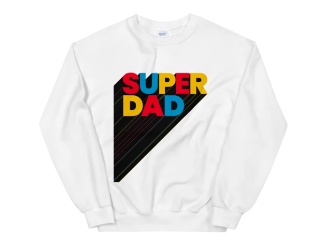 Old Glory Fathers Day This Guy Best Dad Ever Mens Sweatshirt