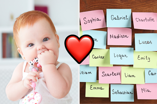 Can We Guess If Your Crush Likes You Back Or Not Based On The Baby Names You Pick For Every Letter Of The Alphabet?