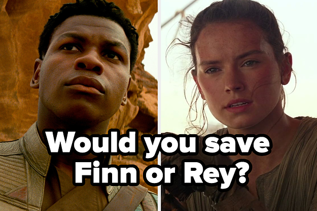 """Would You Save The Same """"Star Wars: The Rise Of Skywalker"""" Characters As Everyone Else?"""