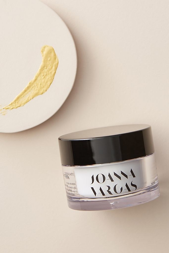 An image of Joanna Vargas' exfoliating mask.