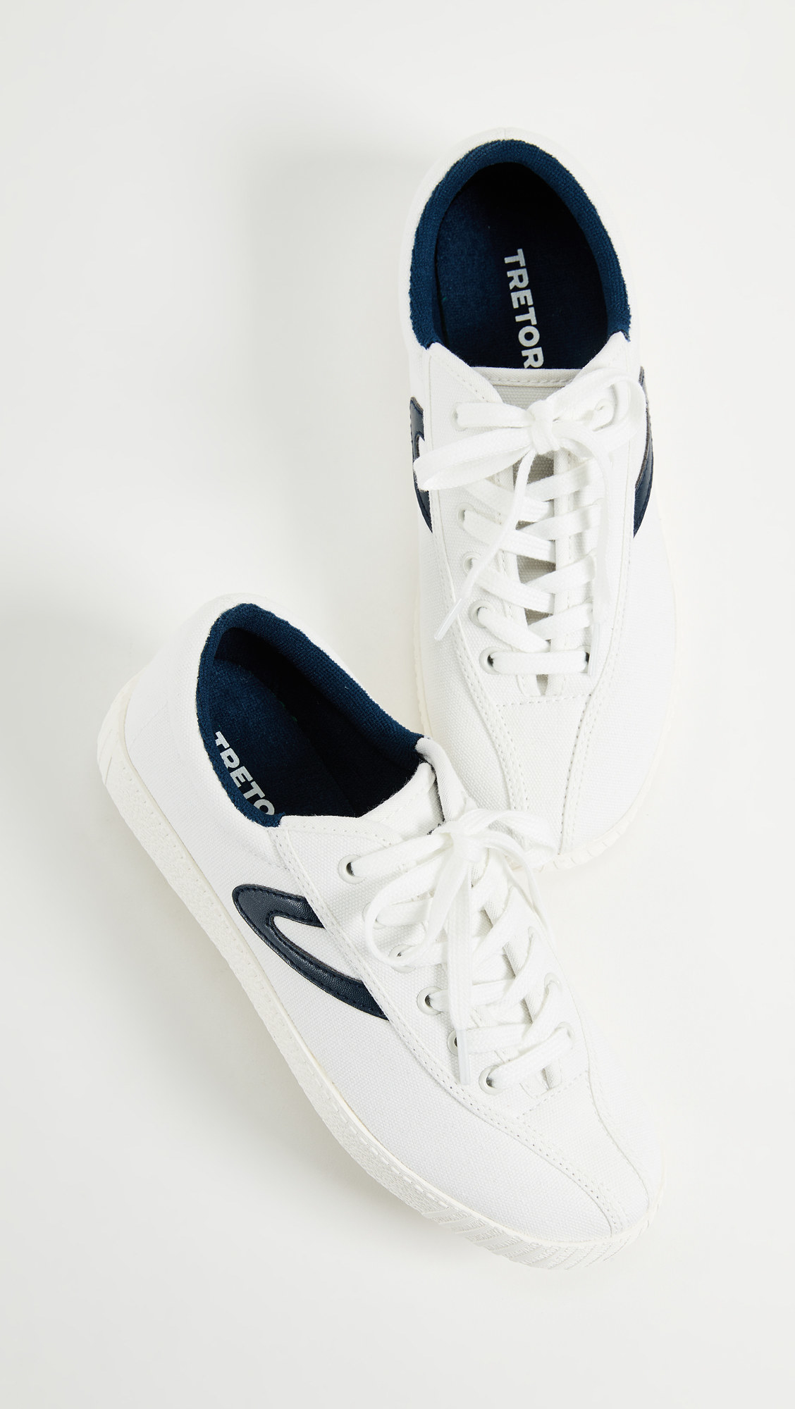 Close-up of the shoes on a white background