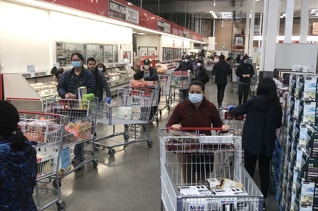 Costco Is Loosening Coronavirus Crowd Restrictions. Employees Say It's Still Not Safe.