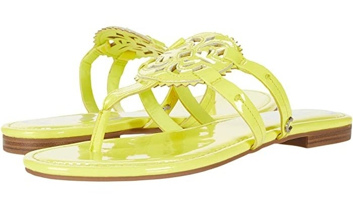 Neon yellow Circus by Sam Edelman Canyon sandals