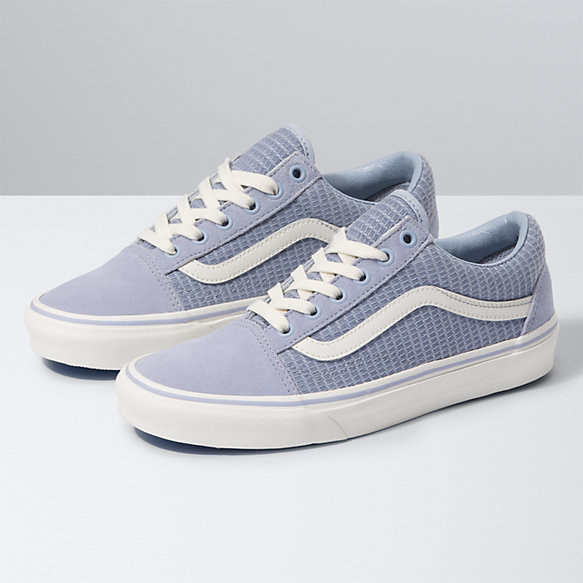 Vans Old Skool in zen blue/snow white