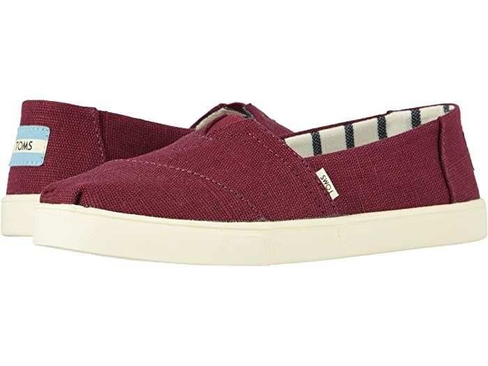 Toms Alpargata Cupsole in red